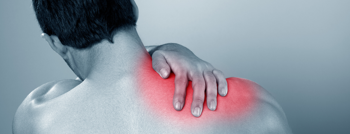 the burning aching shoulder pain from scar tissue muscle knots